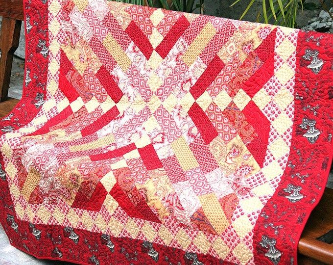 Rue Indienne Quilt Top Kit - French General