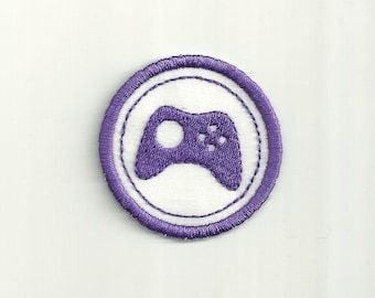 "2"" Gamer Merit Badge, Patch! Any Color Combo, Custom Made!"