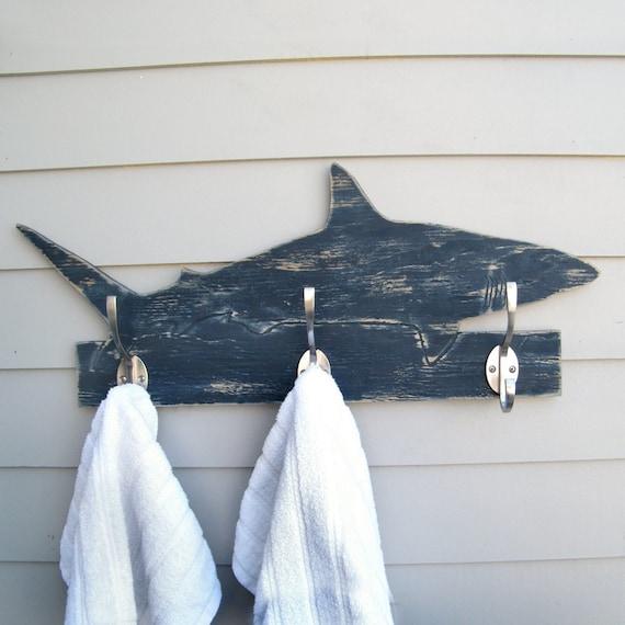 Shark Towel Hook Bathroom Towel Hook Beach Towel Hook Shark
