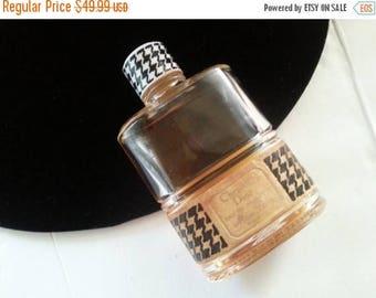 ON SALE 1950's Christian Dior Perfume Bottle * Mid Century Vanity Home Decor * Very Rare Couture Designer Perfume Bottle