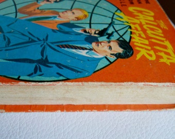 "Vintage ""The Calcutta Affair The Man From U N C L E"" Hardcover Little Big Book Whitman Publishing Co 1967"