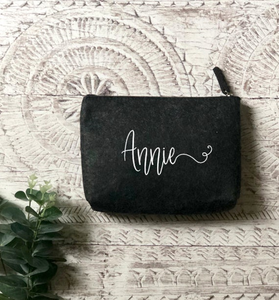 Personalised Felt Pouch