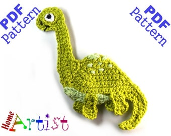 Brontosaurus Dino crochet pattern