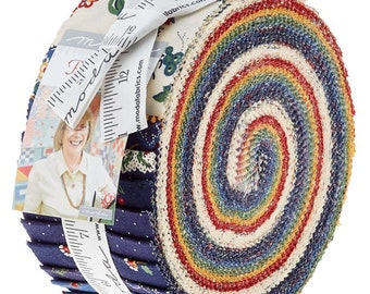 Provencal by American Jane for Moda Jelly Roll
