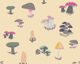 Agaricus Forest Froth from Fantasia designed by Sara Lawson - Art Gallery Fabric