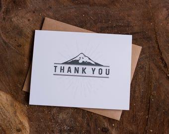 Thank You, Mountain Card Set