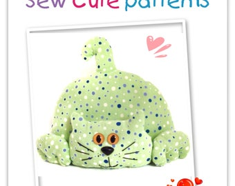 Softie Pattern / PDF Pattern Soft Toy / Sewing Pattern / Stuffed Cat Pattern / Plushie Pattern / Soft Toy Patterns / Plush Toy Pattern / Cat