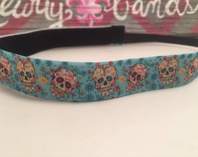 Nonslip Headband Sweet Skulls