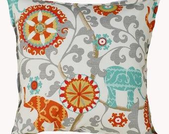 Outdoor / Indoor Elephant Grey Cushion Cover