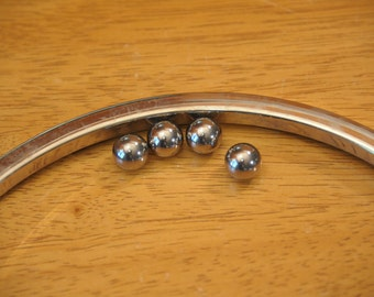 "Chrome Steel 13 mm (0.512"") Diameter Balls, 4 pieces - (Contact shop to request actual ship cost for multi items)"