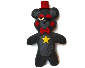 "Lefty (Handmade Plush) Fnaf 13"" inch"