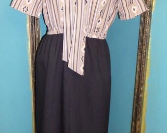 Vintage Dress Mr Jack Dallas Original Size Small 1960s/1970s