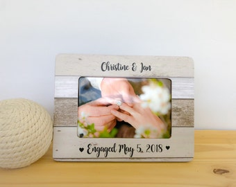 Engaged Frame. Proposal Frame. Engagement Party Gift. Engagement Frame Engagement Gift Fiance Personalized Gift