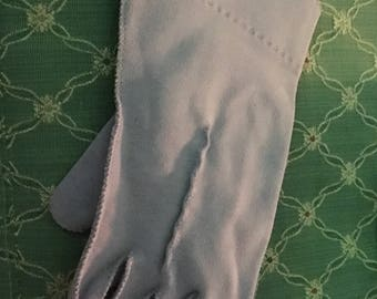 Classic 50's Lavender Suede Gloves