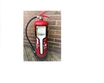 Fire Extinguisher Toilet-Roll Holder/Dispenser