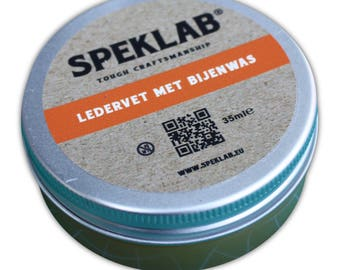 SPEKLAB | Leather grease with beeswax (25 mlE)