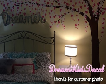 Nursery Tree wall Decal Wall Sticker Baby Nursery Decals-Cherry Blossoms Tree Decal Large wall art