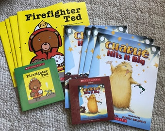 Children's Audio Book Sets with CD with Books