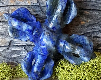 Lapis Lazuli Double Tibetan Dorje - 613