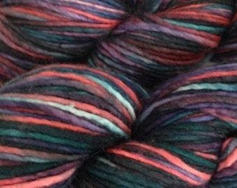Manos del Uruguay Manos Maxima yarn, Color-Mixed Berries #M7158, Blend-extrafine Merino Wool, Weight-Aran-Worsted
