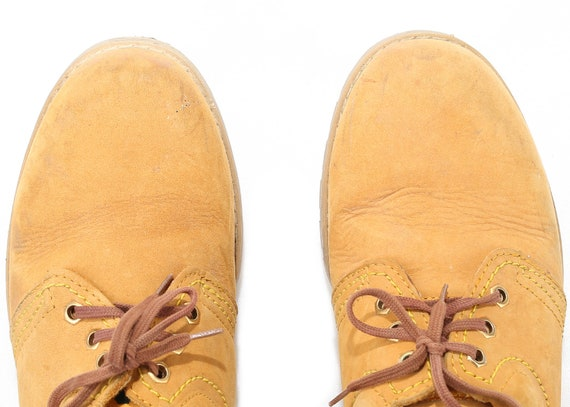 Fit Shoes Uk Eur Platform 40 Work 5 Shoes 7 Retro Hipster Shoes Wide women 9 Shoe Sole Up Brown Lace Women Suede Vintage 80s US Oxford ABnPfwSqTT