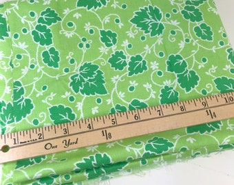 Green Leaves, Picnic and Fairgrounds, DS Quilts Collections by Denyse Schmidt for Fabric Traditions, 1 Yard