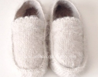 Crochet Slippers Accessories Women Slippers Crochet Mens Slippers Home Shoes House Slippers with Felt insoles Gifts For Women Gifts For Men
