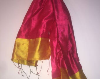 Tribal Spears Silk Scarves
