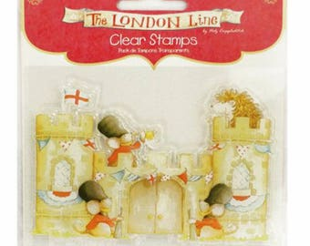 Tampons transparent clear stamps king of the castle - 002026