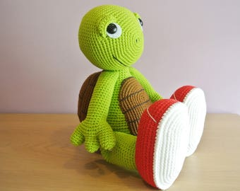 Crochet Turtle Amigurumi - Handmade Crochet Amigurumi Toy Doll - Turtle Crochet - Amigurumi Turtle