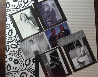 DIY scrapbook kit...family generations