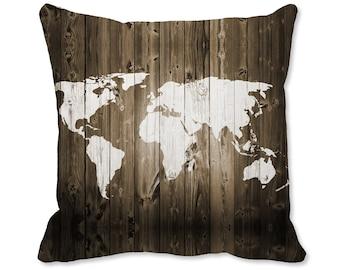 Map throw pillow etsy gumiabroncs Choice Image