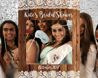 FREE SHIPPING - rustic bridal shower decorations