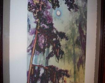 Original Art Print - Southern Moon - Giclée Limited Edition Signed by Artist Chris Scheel - 13 x 20
