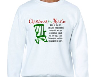 Christmas in Heaven Sweatshirt-Christmas Gift Idea
