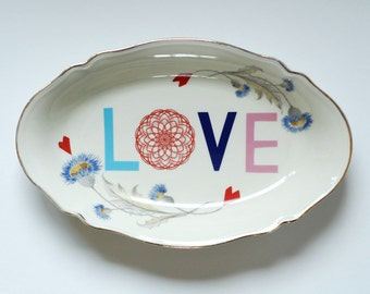 Love platter ready to ship