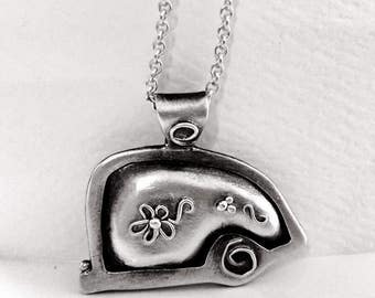 Hittin' The Road Trailer Necklace Happy Camper Travel Charm Gift for Camper Camping Charm Travel Jewelry Outdoorsy Charm
