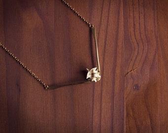 Chevron Necklace, Long Chevron Necklace, Layering Chevron, Chevron Bar Necklace