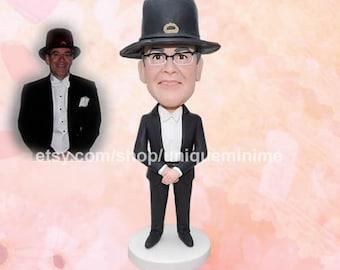 Personalized Bobblehead Mens, Custom Bobblehead Mens, Custom Bobblehead, Customised  Bobblehead   Mens, Husband Gift, Custom Boyfriend Gift