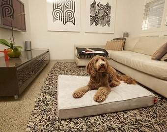 Luxury & Organic Modern Pet Bed VELLUTO BED - Dog Bed