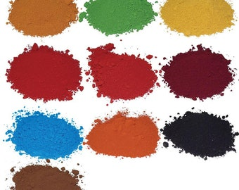 Concentrated Colorants for Mosaic Grout and Cement - Multiple Color Choices 3 oz.