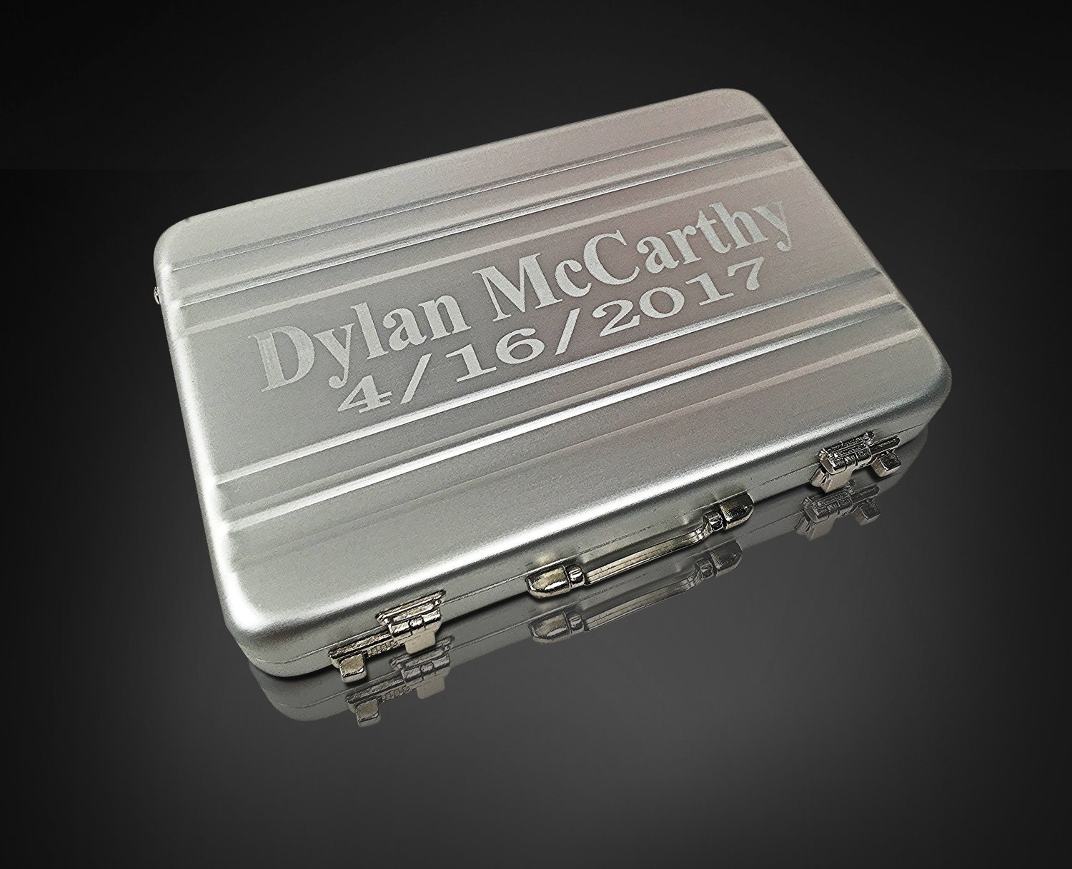 Business card holder custom engraved - Personalized business card ...