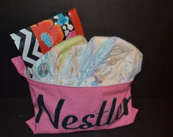 Personalized Waterproof Diaper Pouch