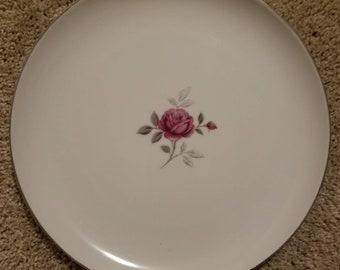 Petite Rose by Gildhar Dinner Plate