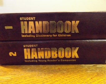 Student Hanbook Volume 1 and 2 - Including Young Reader's Companion - Dictionary for Children