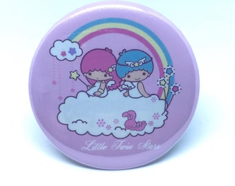 Little Twin Stars 2.25 pinback button