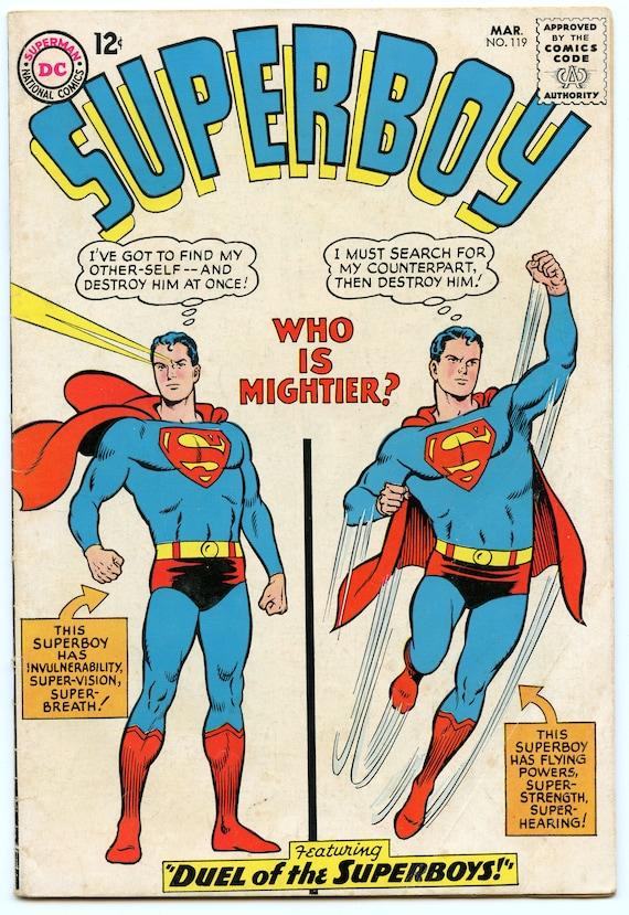 Superboy 119 Mar 1965 VG (4.0)
