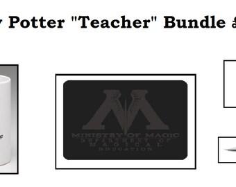 Harry Potter - Ministry of Magic Teacher Bundle - Pen/Mouse Mat/Mug
