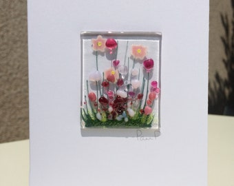 Blooming Card - Blank Inside