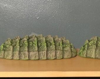 3-piece ceramic Alligator set
